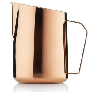 B&Co Milch Jug Gold Rose